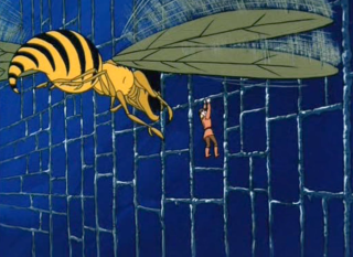 257 18 Giant Wasp Attack